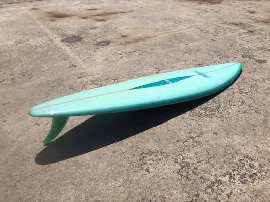 Vintage McCoy Surfboards Barry Kanaiaupuni Model 2