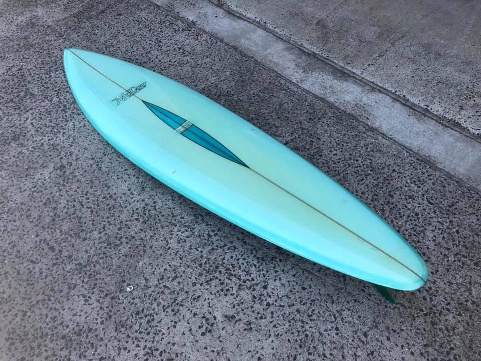 Vintage McCoy Surfboards Barry Kanaiaupuni Model