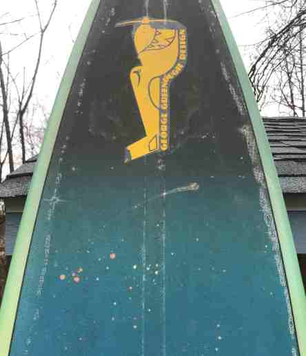 Bob Duncan Wilderness Surfboards George Greenough Designs Sailboard 1980s : 1990s 9'6 2