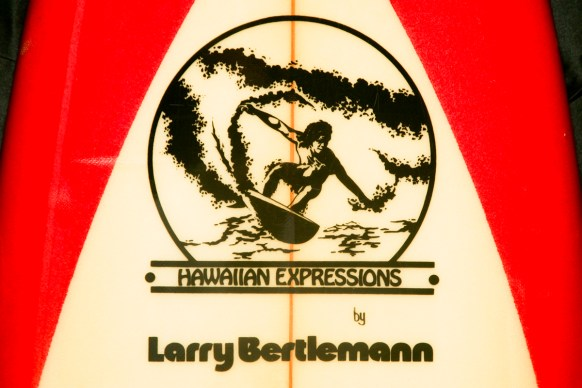 Larry Bertlemann Hawaiian Expressions New Logo Buggs Surfboardline