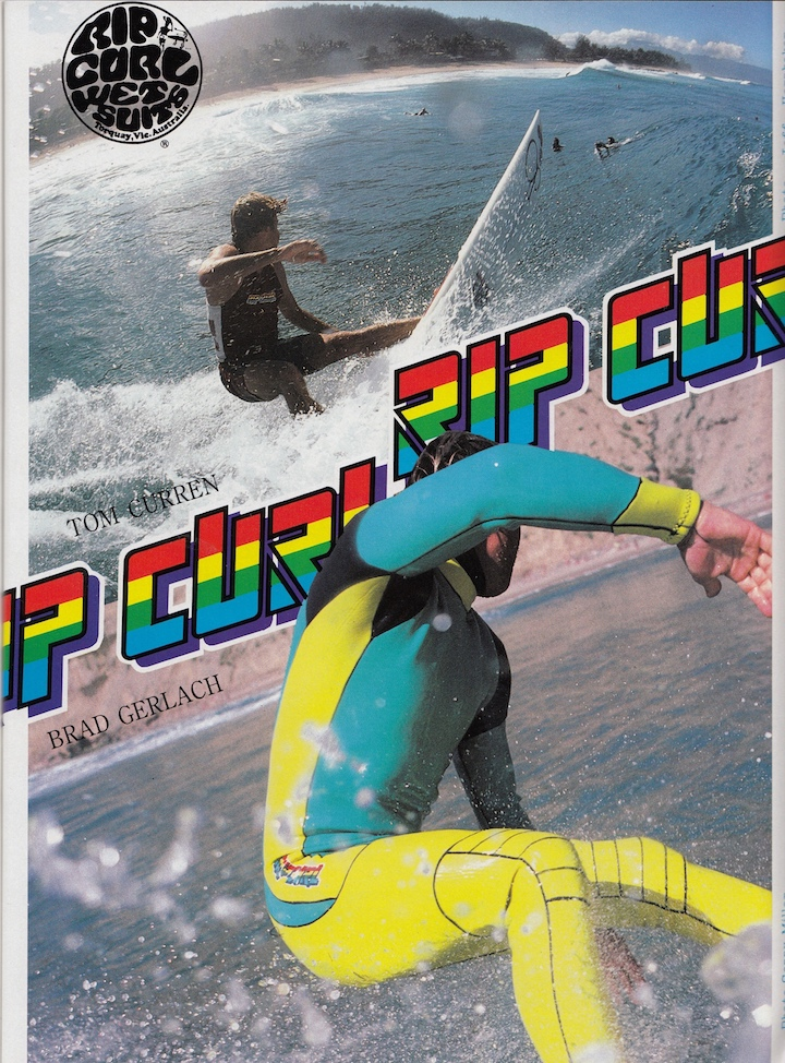 Tom Curren and Brad Gerlach for Rip Curl: Sagas of Shred