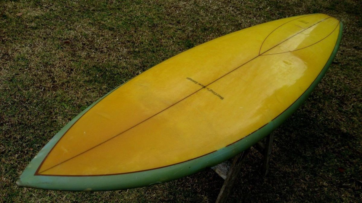 Donald Takayama Surfing's New Image Surfboard for Dru Harrison