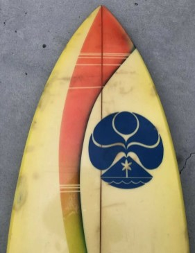 Vintage HIC Twin Fin Cino Magallanes Bottom
