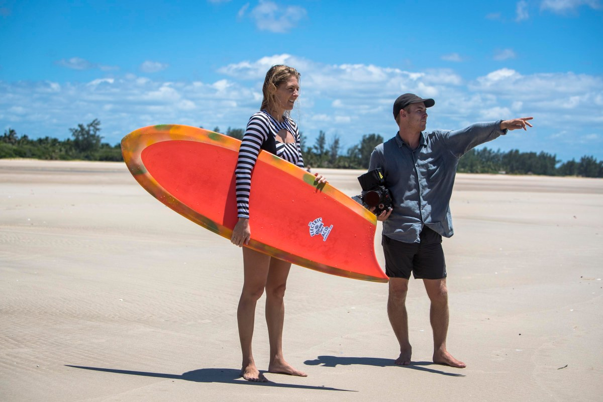 Radical Elegance: The Electric Acid Surfboard Test with Steph Gilmore