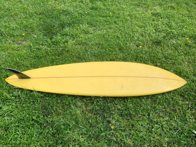 Natural Progression Single Fin Robbie Dick 3