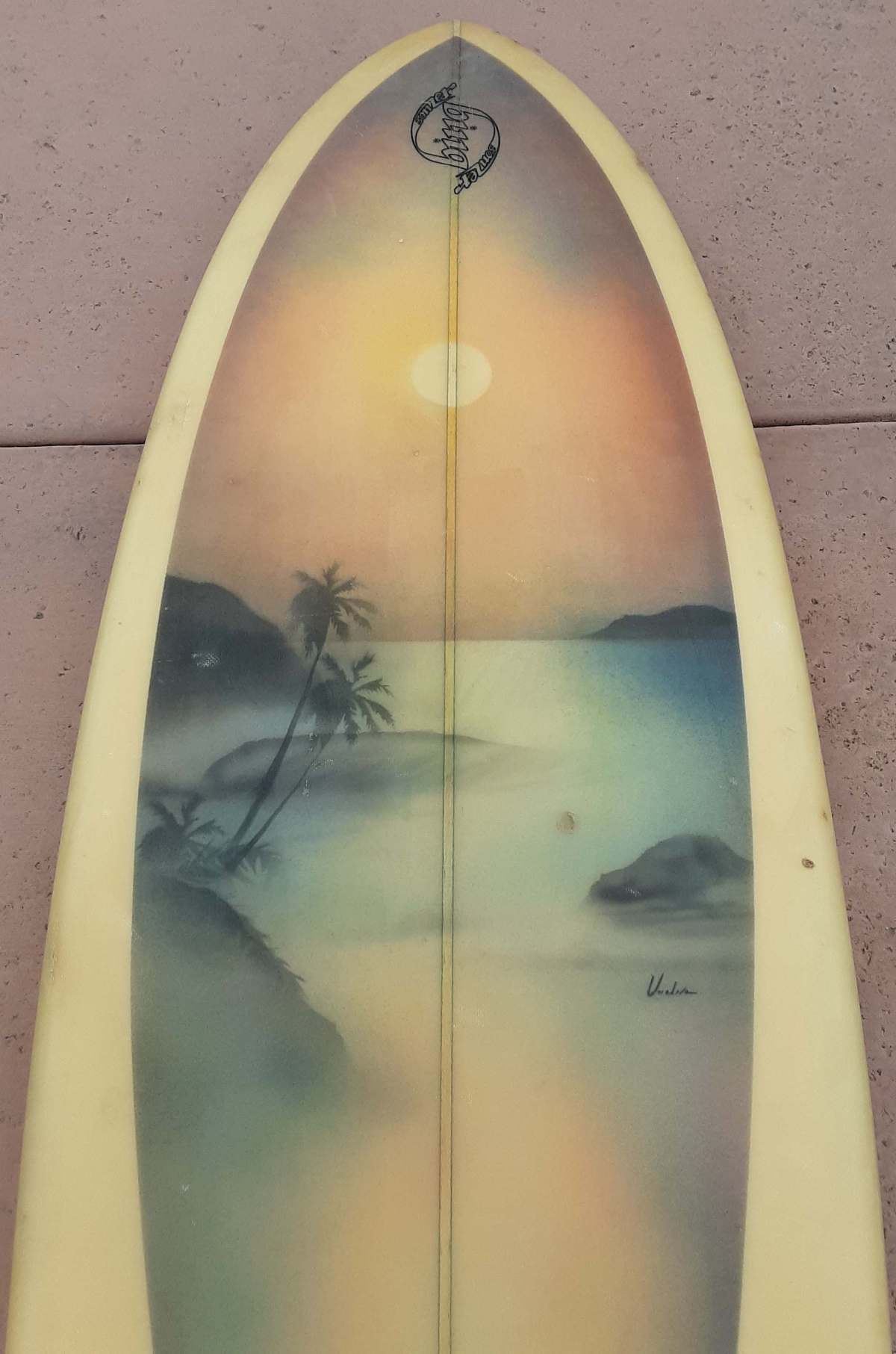 Mike Eaton Bing Bonzer with Seventies Airbrush
