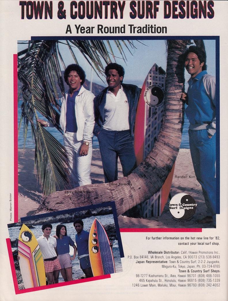 T&C Surf, Dane Kealoha, Larry Bertlemann Ad: Sagas of Shred