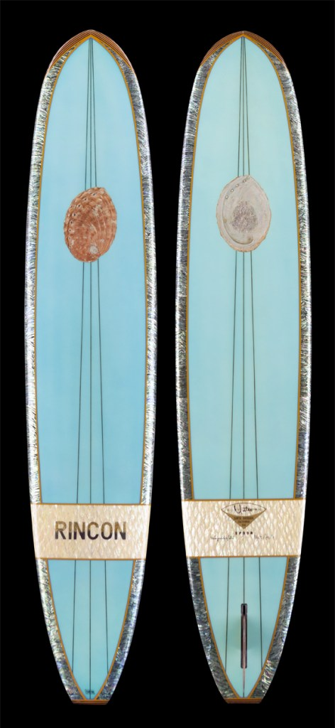 Yater Kevin Ancell Surfboard Abalone