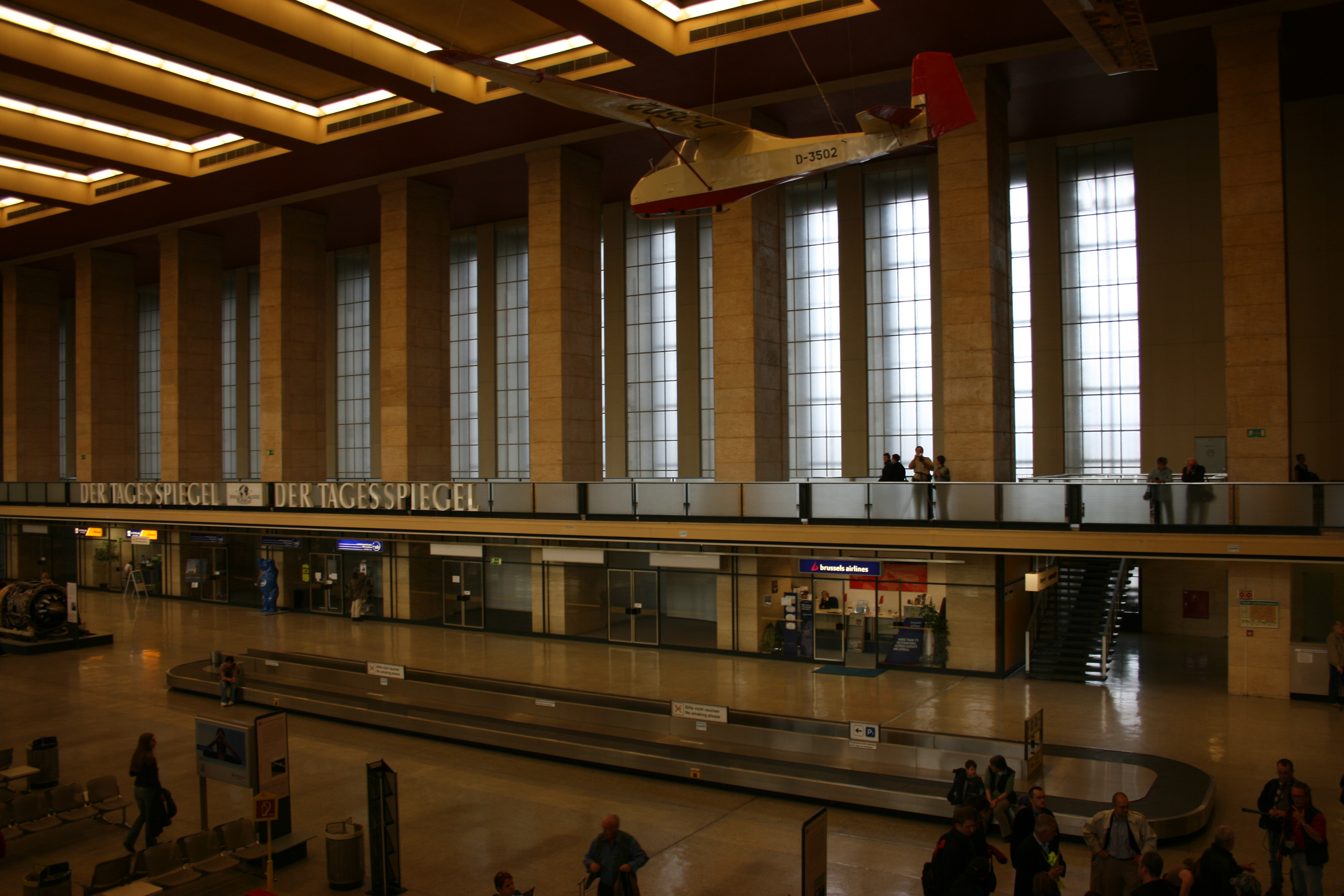 main hall, during the rush hour