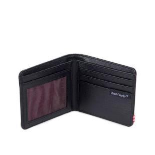 herschel-hank-leather-wallet-black-open