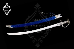 Silver Rajput Sword