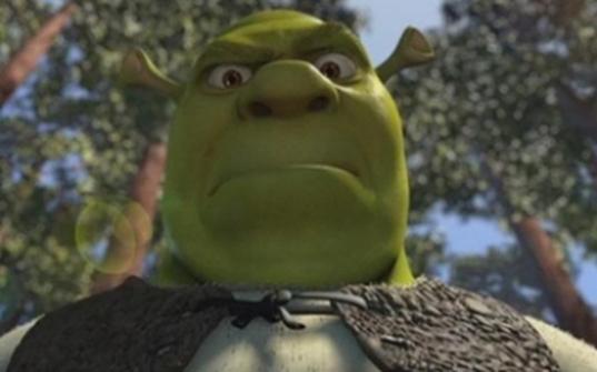 The Angry Giant Shrekining