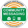 community messaging logo