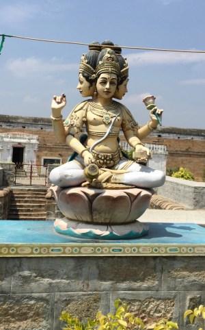 Fate Changing Brahmapureeswarar (Brahma) Temple at Tirupattur