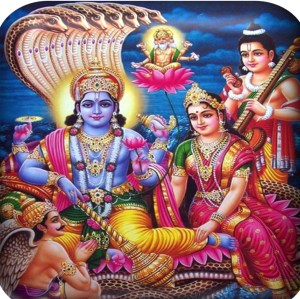 VISHNU AND LAKSHMI — In Vedic Scriptures