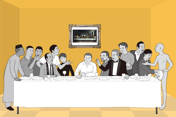 たけし軍団の最後の晩餐