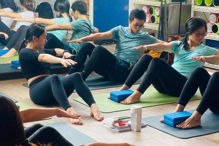 蝦老師皮拉提斯運動專班 台北小班制跟著老蝦做運動