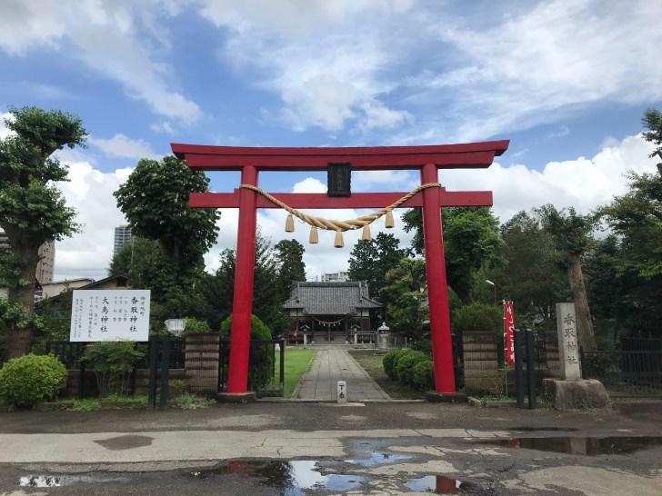 千葉県柏市旭町香取神社