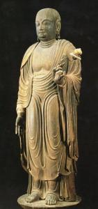 法隆寺地蔵菩薩