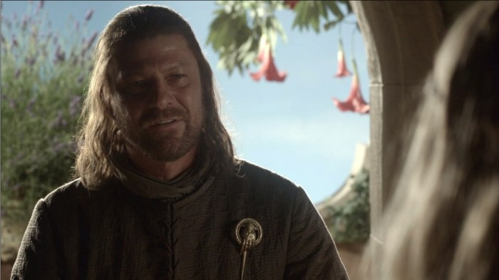 Sean Bean Eddard Stark close-up screencaps images photos pictures Game of Thrones
