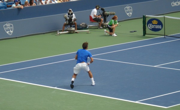 Federer see-through white shorts ass bum arse pictures photos images