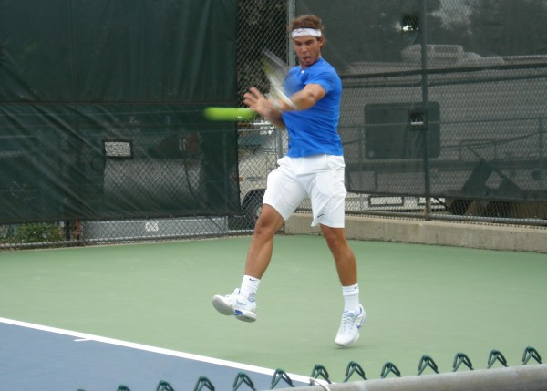 Rafa Nadal big swing grunt sigh photos images videos