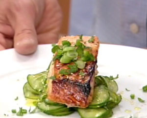 Salmon Cucumber Salad