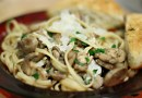 Pasta with Mushrooms and Garlic Recipe