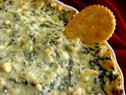 Low Fat Spinach Artichoke Dip