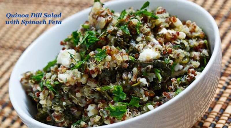 Spinach and Feta Quinoa