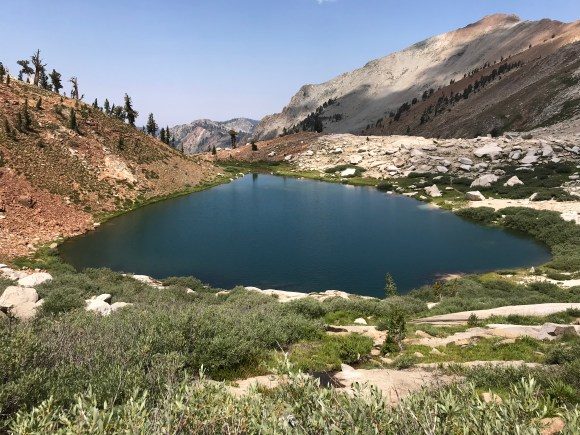 Mineral King, lower Monarch Lake, 7.27.18