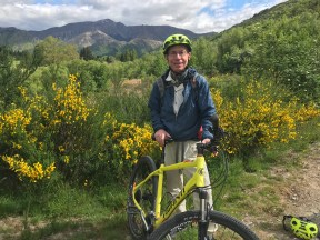 Arrowtown bike route, Jonathan