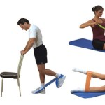 Tricep Exercises with Exercise Band
