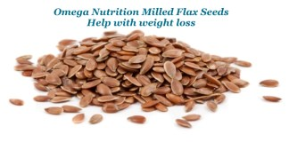 Omega Nutrition Milled Flax Seeds
