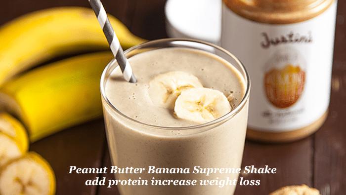 Peanut Butter Banana Supreme Shake