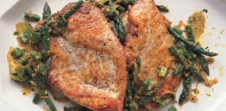 Sauteed Chicken with Asparagus