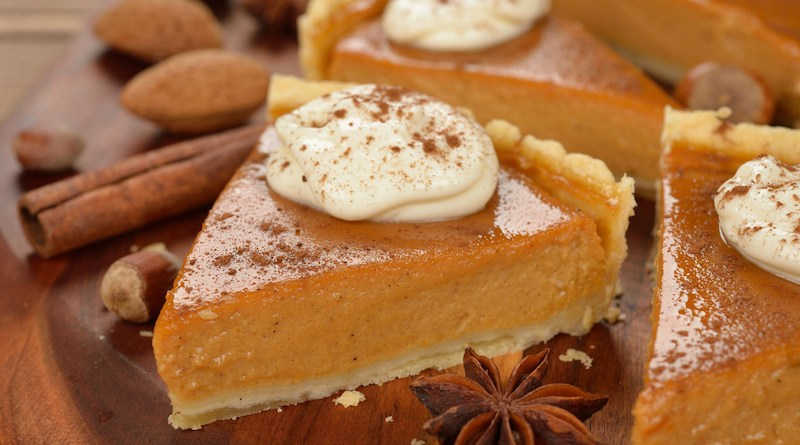 Pumpkin Pie Low Calorie