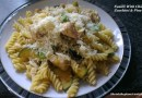 Lemony Fusilli With Chicken, Zucchini & Pine Nuts