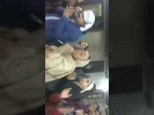 दिल्ली ढक्का साहिब में संगते माँघ महातम का आनंद उठाते हुए
