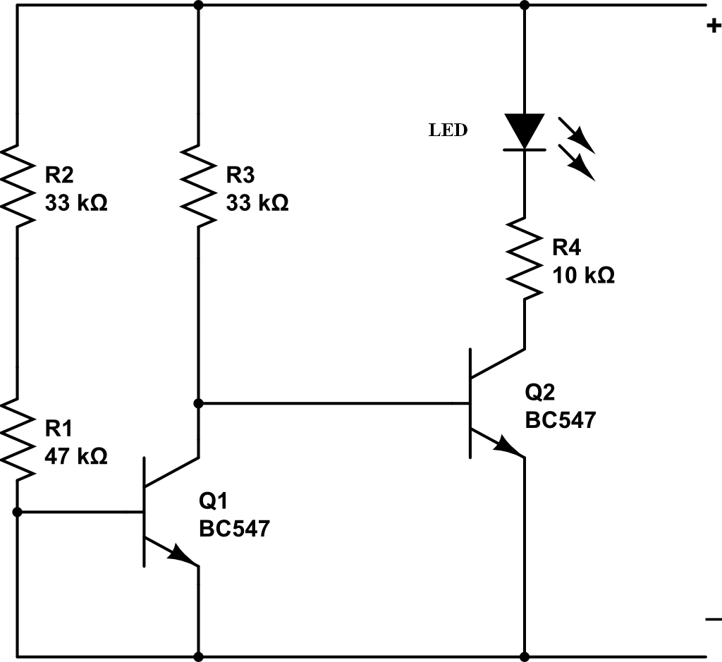 Low Battery Indicator Circuit Shriram Spark