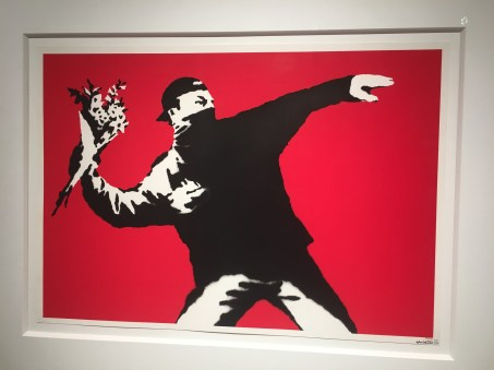 Other paintings of Banksy