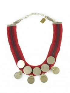 Antique Mughal Era Coin Necklace