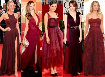 Gowns Marsala