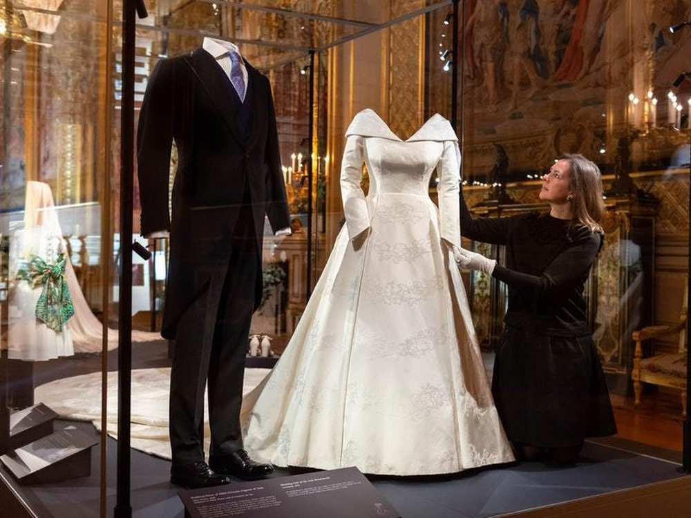 Eugenie 'very Touched' By Support Over Wedding Dress