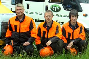 Shropshire Tree Services team
