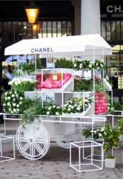 Chanel Pop-up Flower Stall