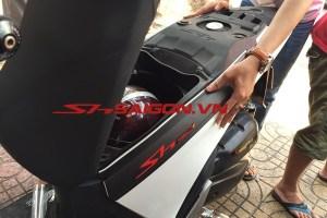 Nẹp hong xe SH Việt Nam chữ thường