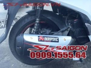 Ốp Pô 300i nhựa ABS siêu bền cho xe SH Việt Nam
