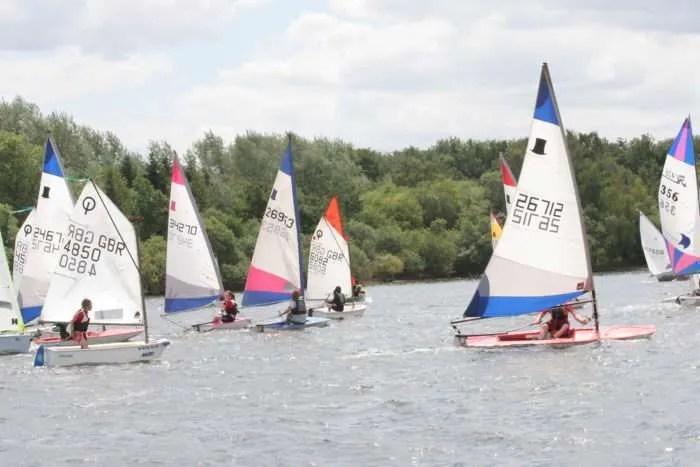junior sailing at SHSC Derbyshire Youth Sailing