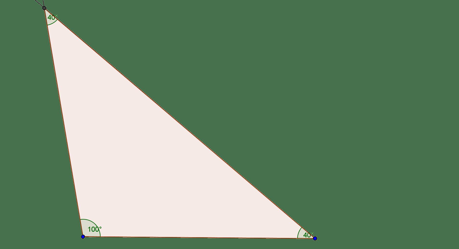 Obtuse Triangle Angles